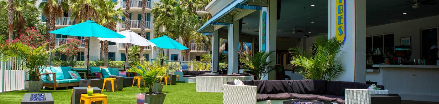 Compass Resorts The Palms of Destin The Palms Bistro Good Vibes Bar