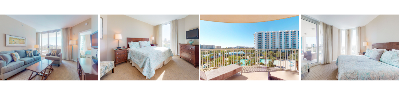 Compass Resorts The Palms 1515 Full Two Bedrooms